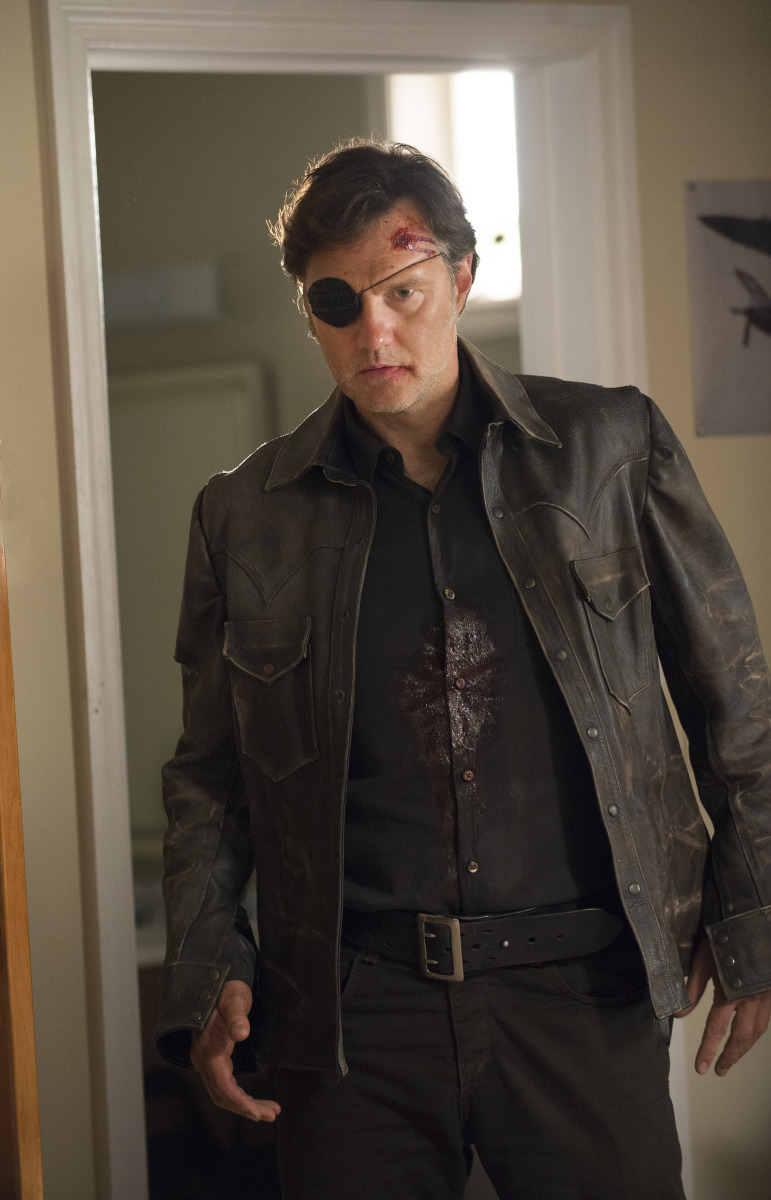 The Governor's Return was Brilliant, Striking, and Magnificent