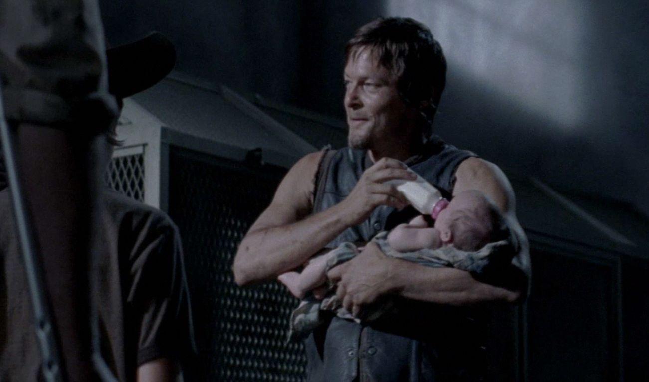 Daryl's little ass kicker baby