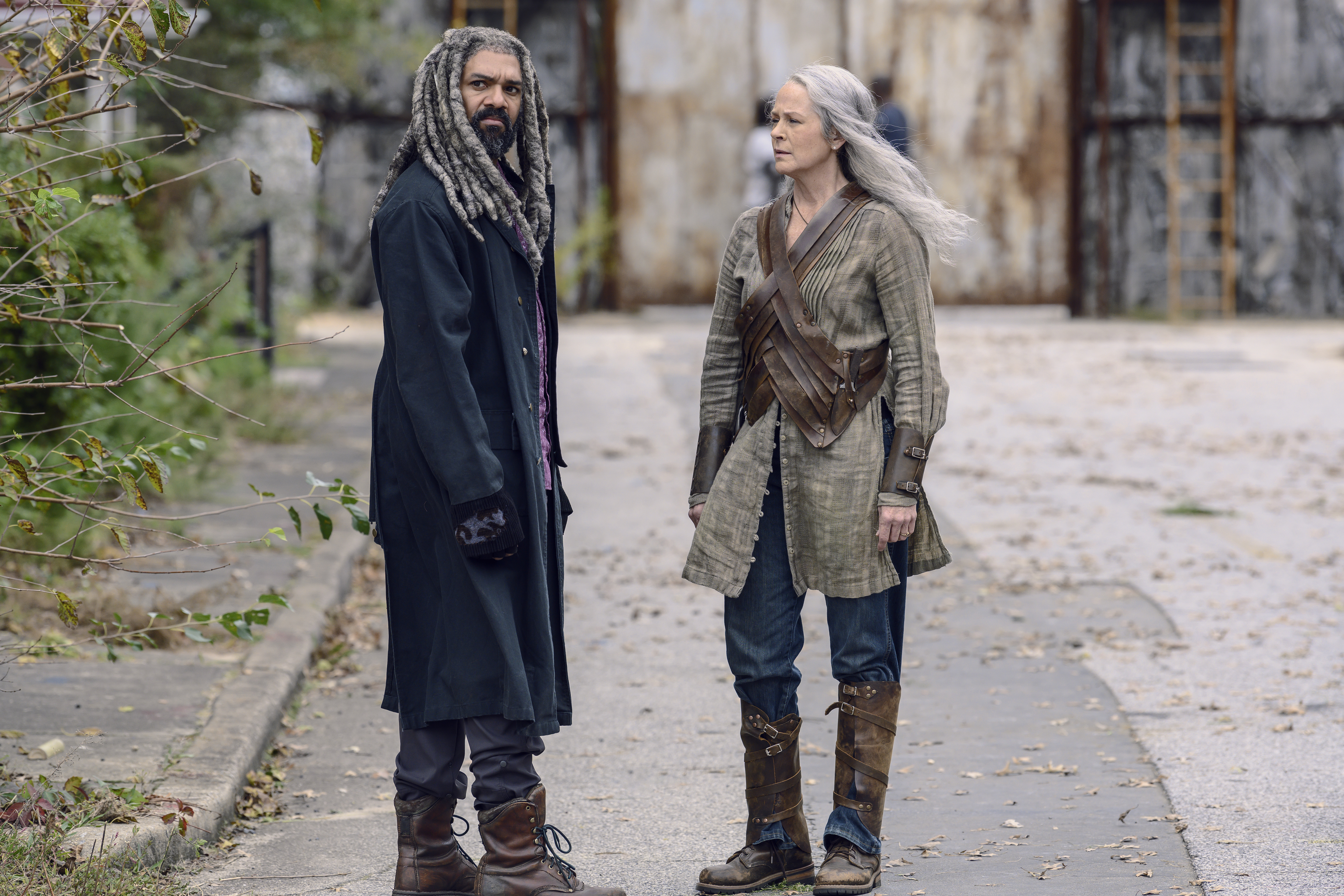 The Walking Dead: Will Carol and King Ezekiel reconcile?