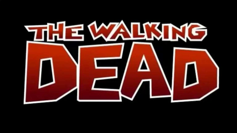 The Walking Dead comic logo - Image Comics and Skybound