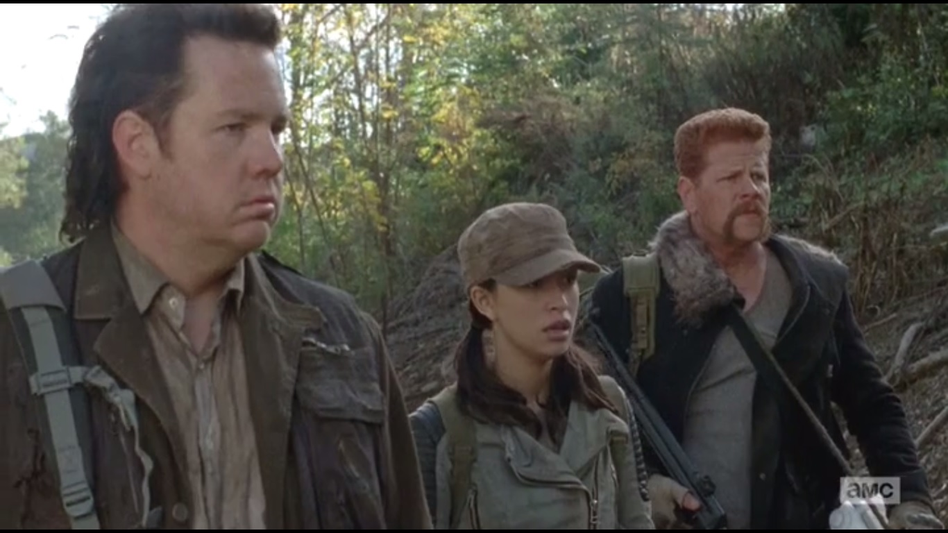 The Walking Dead Season What Secret Does Abraham And Rosita Have - Walking dead intro recut drunk people