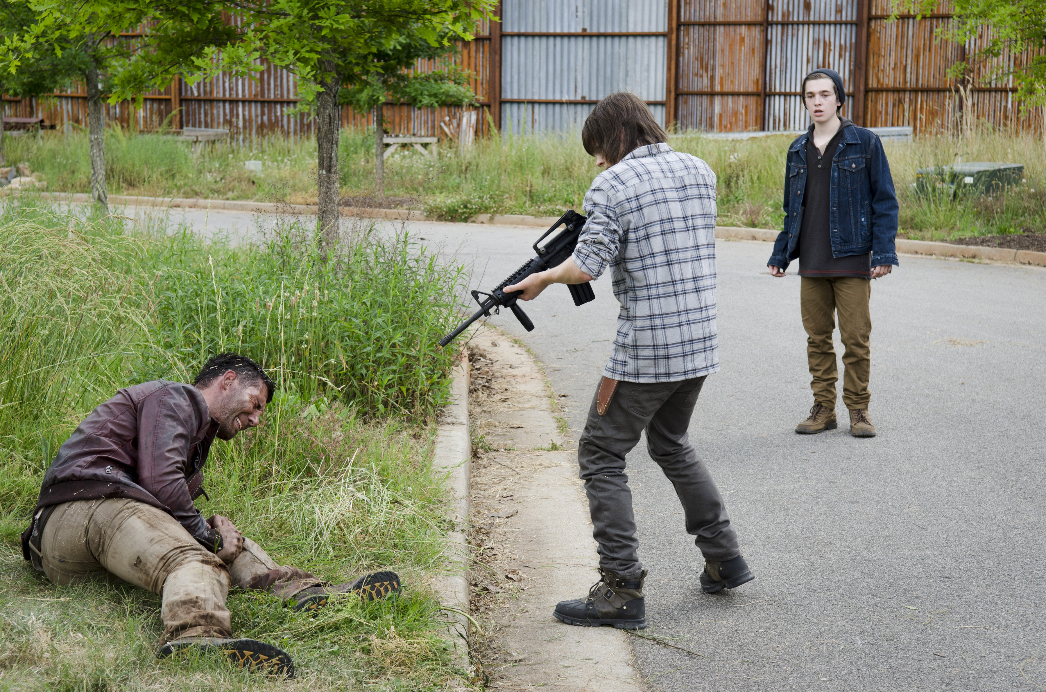How did the Walking Dead shoot