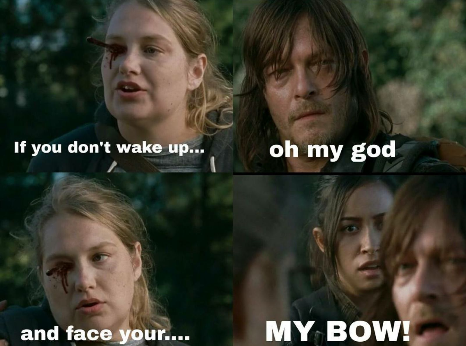 Screenshot_2016 03 25 11 08 45 1 the walking dead eugene, denise and daryl memes