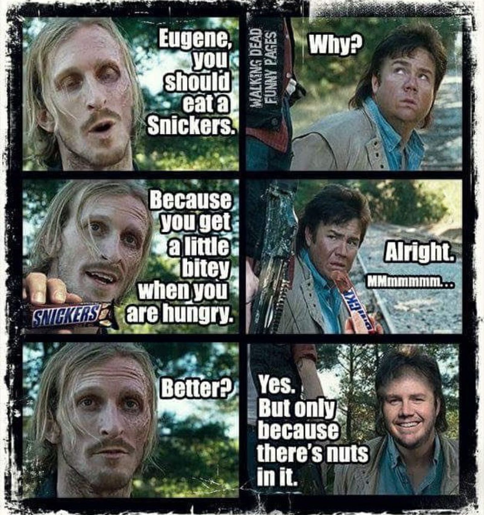 Screenshot_2016 03 25 11 08 53 1 the walking dead eugene, denise and daryl memes