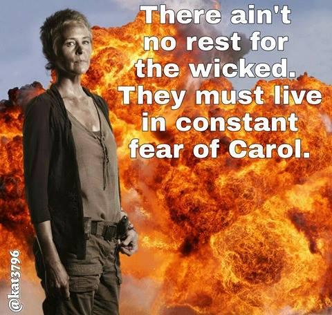 13866624_310530339286359_847890378_n the walking dead tough carol memes,Carol Meme Walking Dead