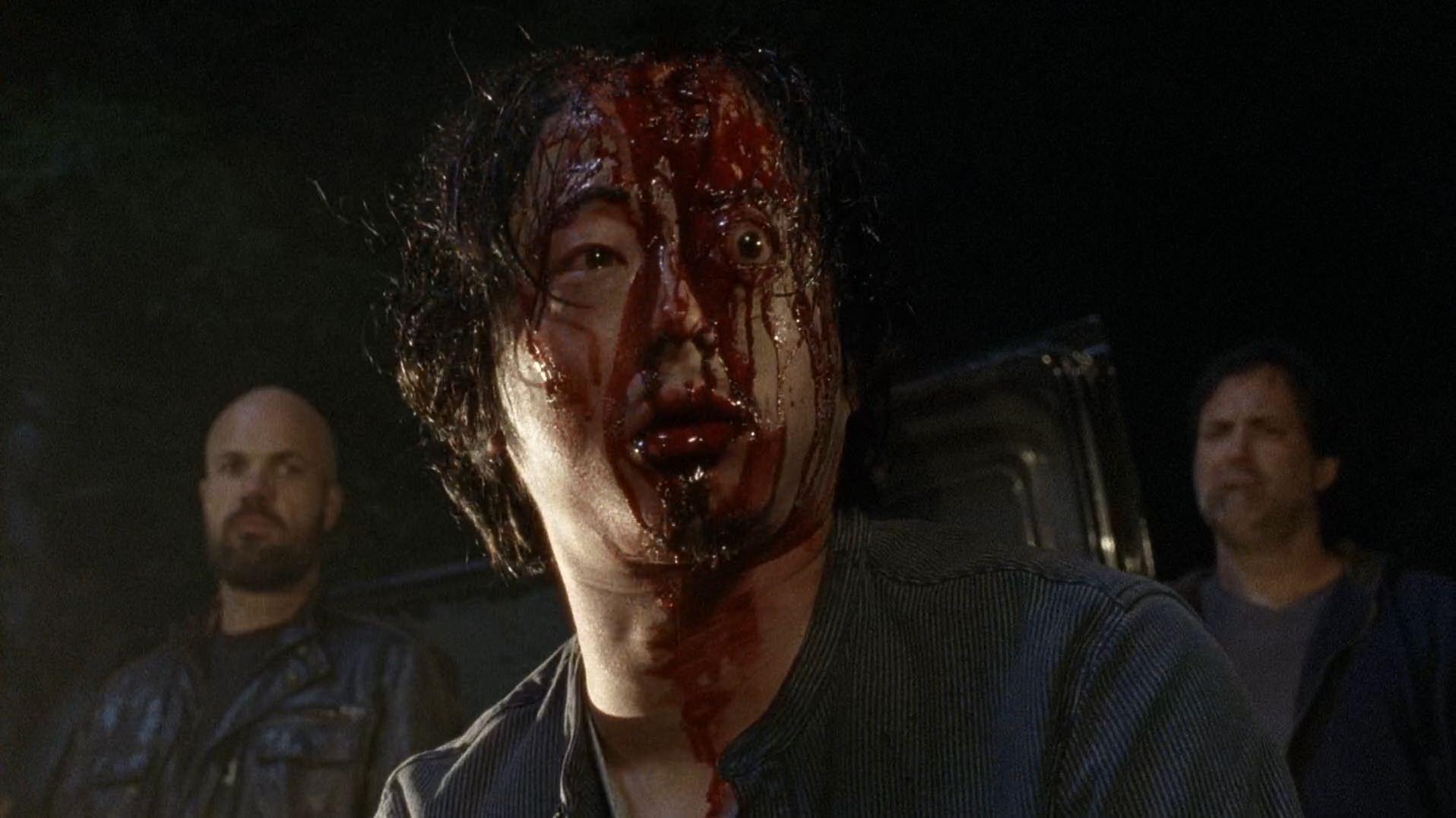 Glenn Walking Dead