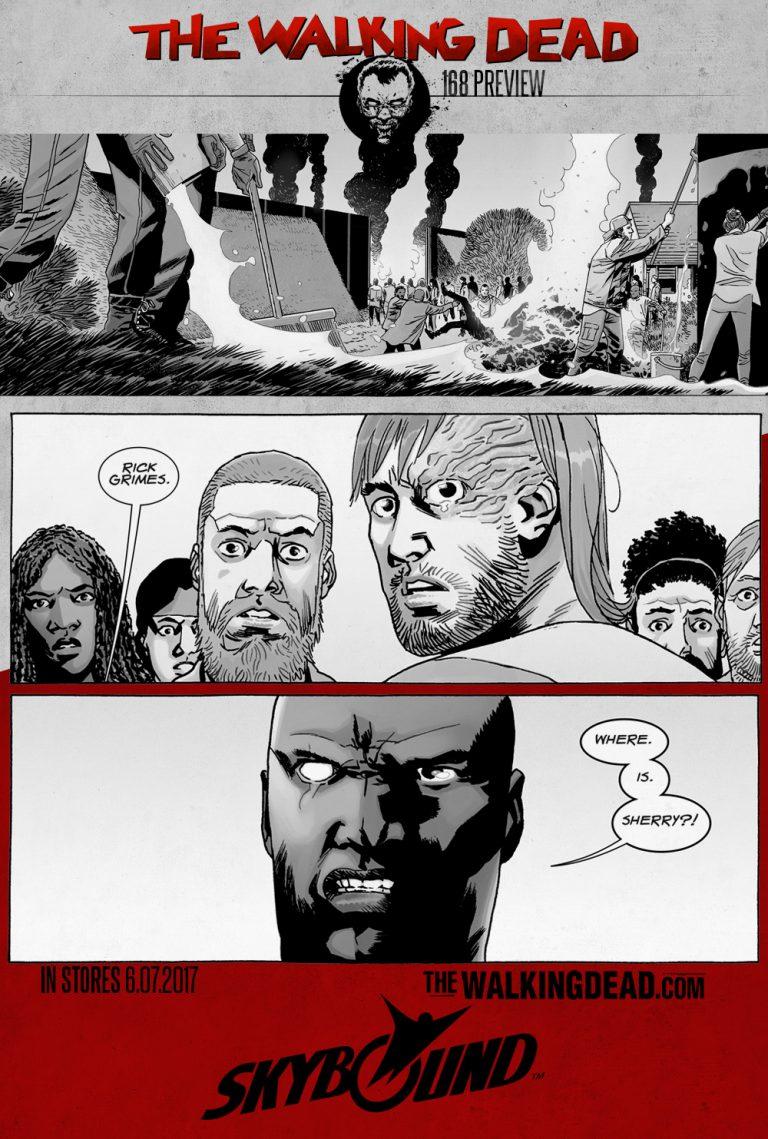 the walking dead issue 168