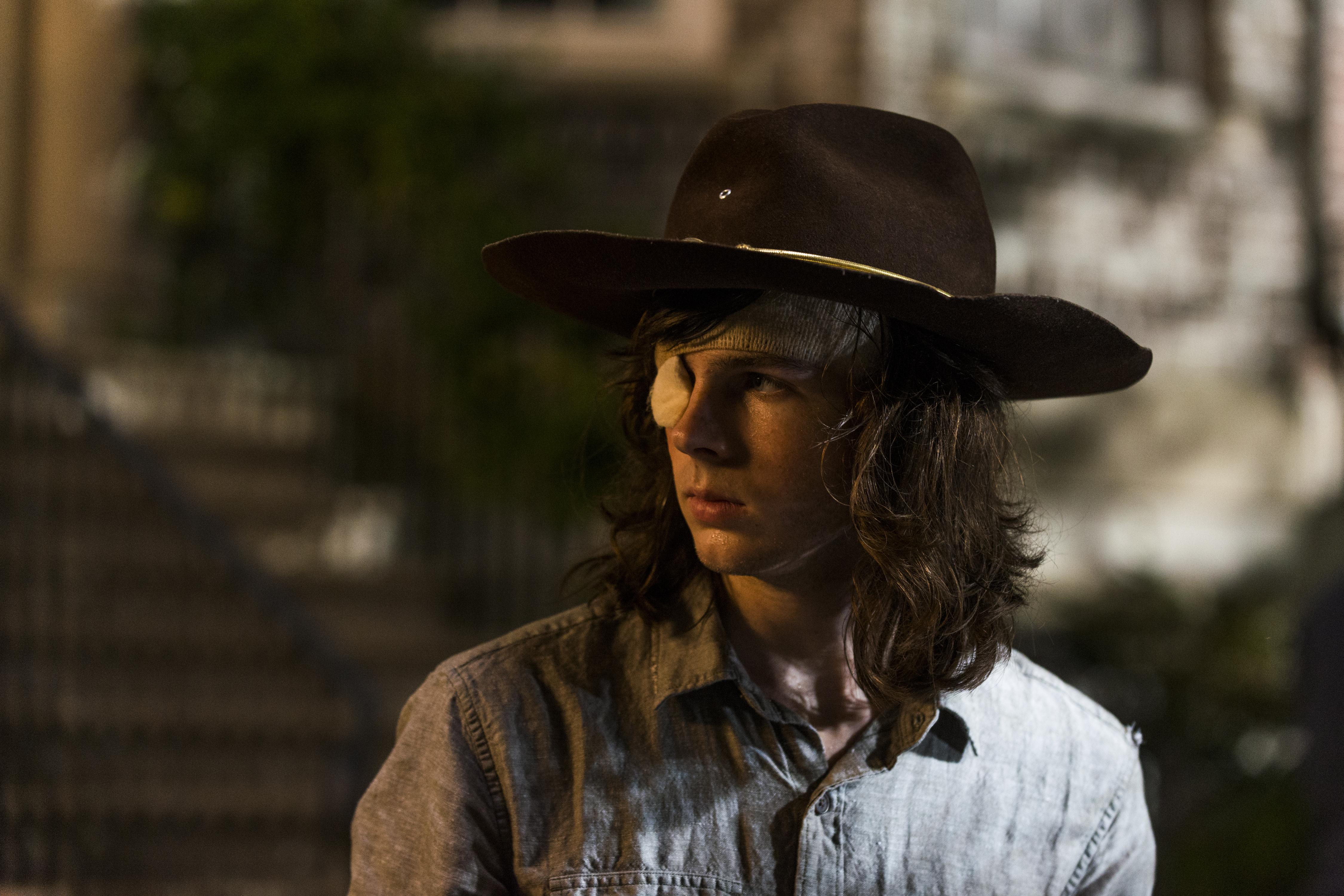 Carl The Walking Dead Tot