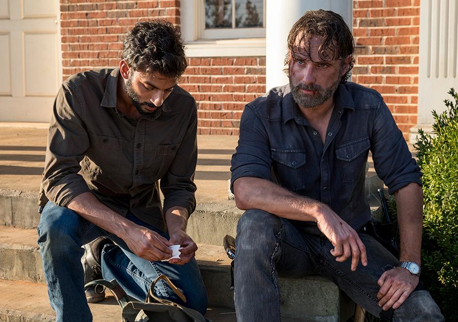 The Walking Dead showrunner explains Carl's fate