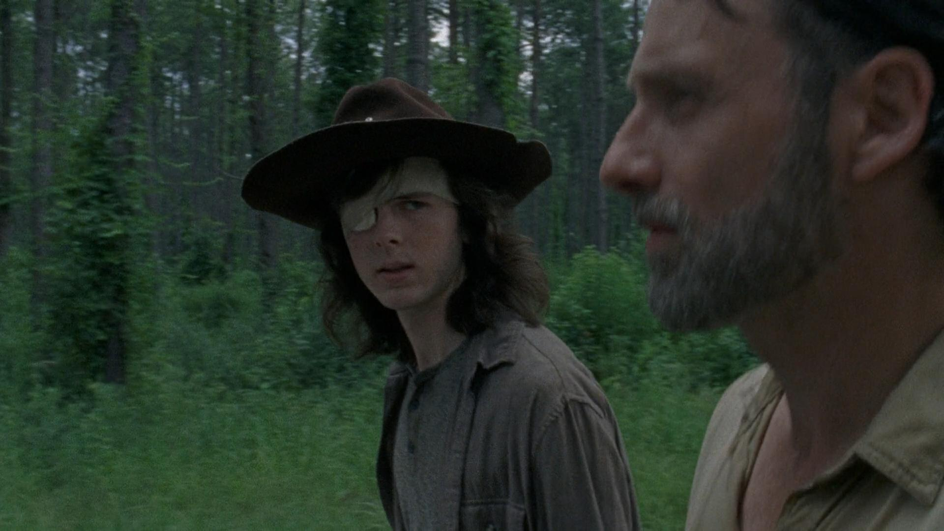 The Walking Dead: Lauren Cohan 'devastated' by Carl's death