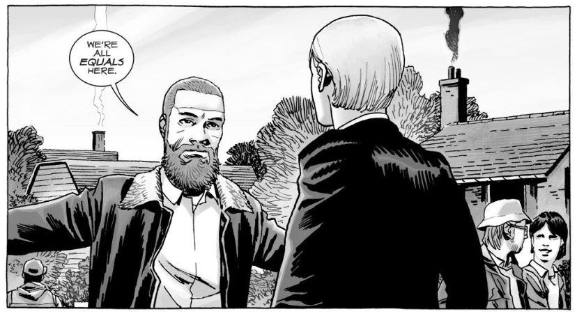 Rick Grimes Comic